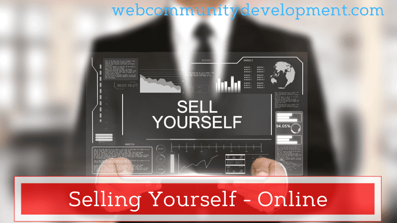 selling yourself online