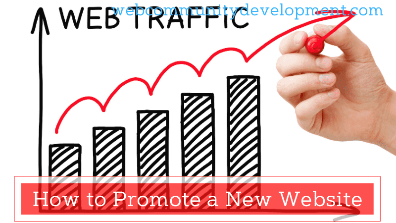 how to promote a new website