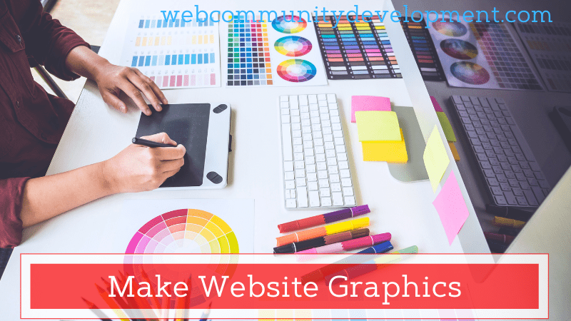 make website graphics
